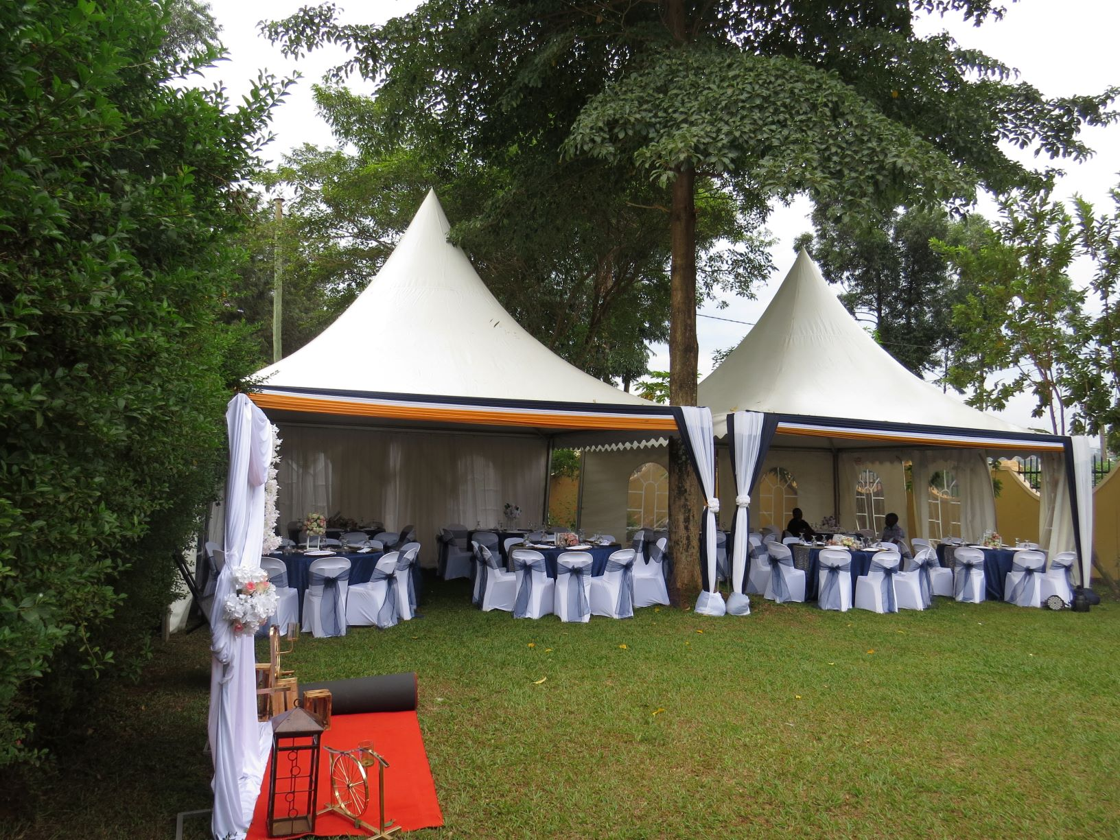 Our Pagola tents are a good choice for small size functions and serving food at larger functions