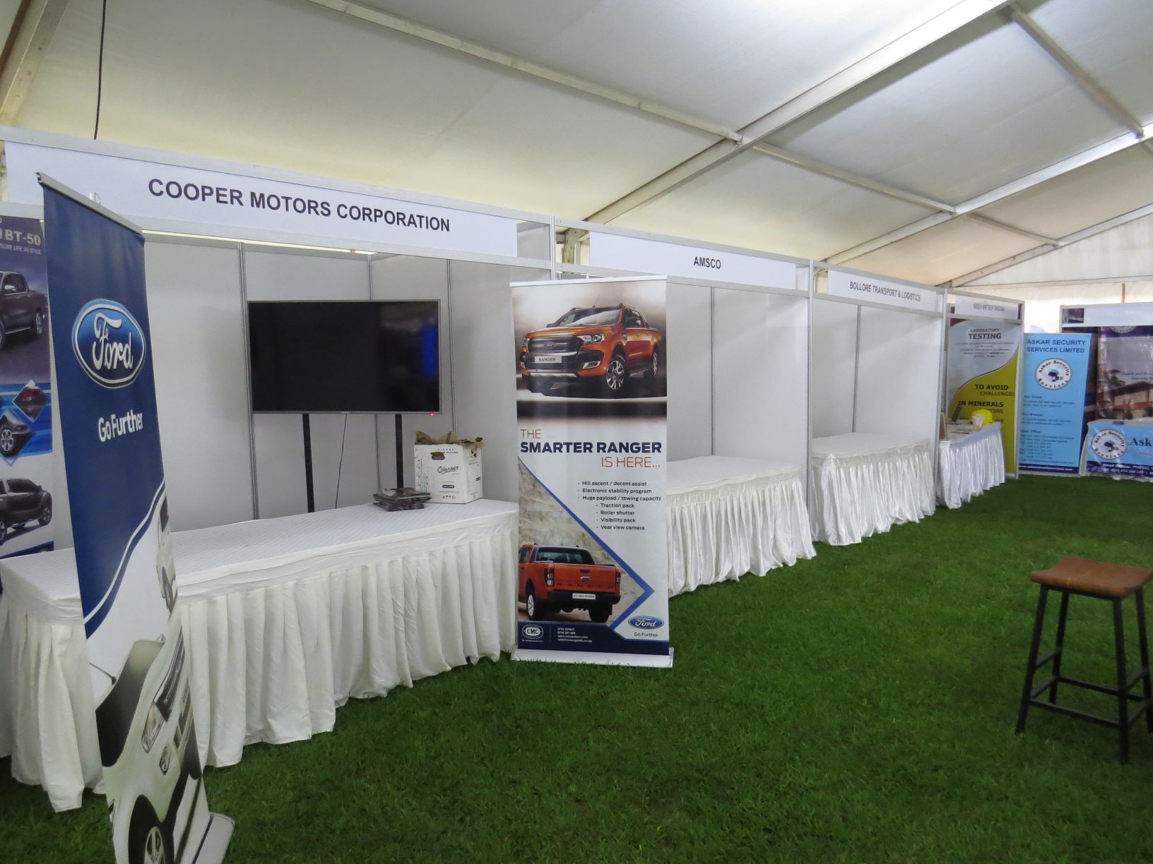 Our exhibition booths are your go to option if you are hosting an expo or exhibition